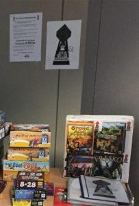 Pfefferkuchel 2016 - Spieletisch mit Stimmbox